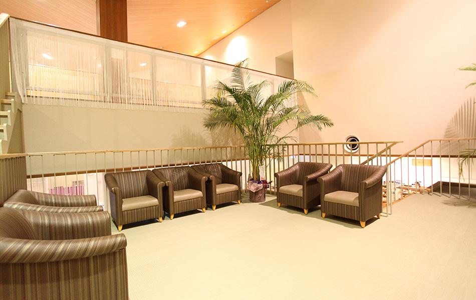 施設案内:中二階広場の写真