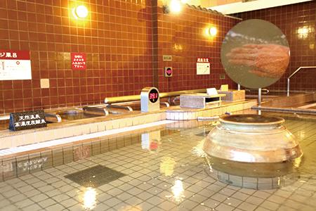 天然温泉高濃度炭酸泉